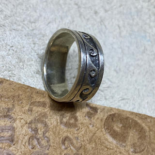 波柄 ウェイブ 平打ち シルバー 925リング 銀 指輪SILVER925(リング(指輪))