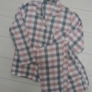 ムジルシリョウヒン(MUJI (無印良品))のガーゼ チェック パジャマ 150cm(パジャマ)