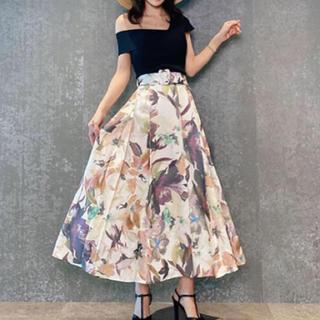 eimy istoire - eimy Grace flowerベルトスカート