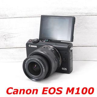 キヤノン(Canon)の❤️カメラバッグ付き❤️Wi-Fi搭載❤️Canon EOS M100(ミラーレス一眼)