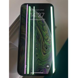 アップル(Apple)のiphone xs 純正 フロントパネル(スマートフォン本体)