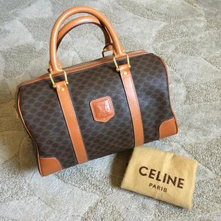 celine - 美品 オールド セリーヌ マカダム ミニ ボストン ハンドバック