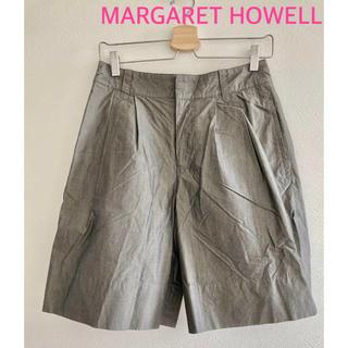マーガレットハウエル(MARGARET HOWELL)のマーガレットハウエル MARGARET HOWELL ワイドハーフパンツ(ハーフパンツ)