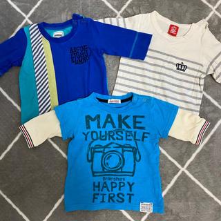 ブランシェス(Branshes)の男の子 7部袖 ロンT  Tシャツ ブランシェス baby doll まとめ売り(Tシャツ/カットソー)