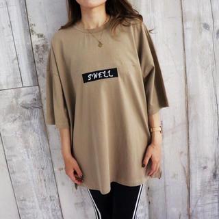 ステューシー(STUSSY)のままコーデに☆LUSSO SURF LAオーバーサイズTシャツ Sサイズ☆(Tシャツ(半袖/袖なし))