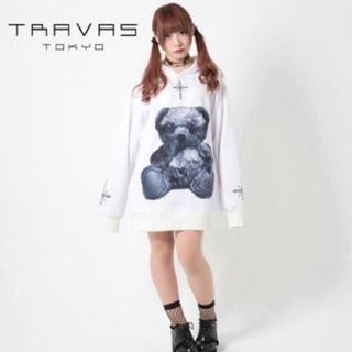 MILKBOY - TRAVAS TOKYO くま  トラバストーキョー  初期 くま パーカー