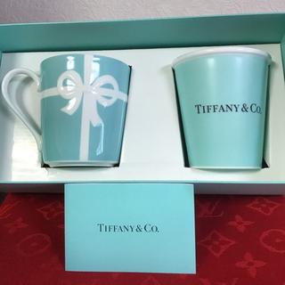 Tiffany & Co. - 新品未使用 ボーンチャイナペーパーカップ&ブルーボックスマグカップ