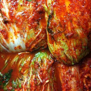 白菜キムチ & オイキムチ &イカキムチor 焼き肉のタレ(漬物)