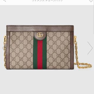Gucci - GUCCI GGスモールショルダーバッグ 美品 オフィディア 新作