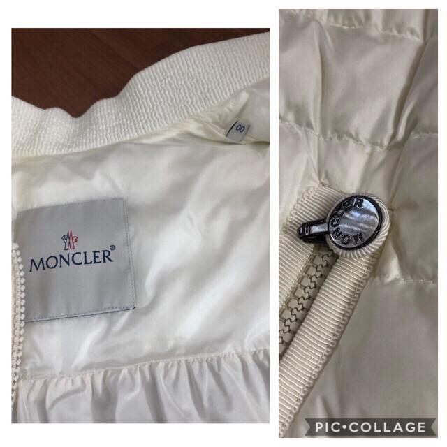 MONCLER(モンクレール)のモンクレール ベスト フリル ARLETTE GILET レディースのジャケット/アウター(ダウンベスト)の商品写真