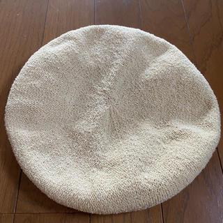 アーバンリサーチ(URBAN RESEARCH)のアーバンリサーチ サマーベレー帽 ベージュ(ハンチング/ベレー帽)