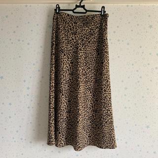 TODAYFUL - レオパード柄 ロングスカート