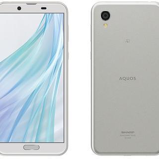 シャープ(SHARP)の新品未開封 AQUOS sense2 SH-M8 ホワイトシルバー SIMフリー(スマートフォン本体)