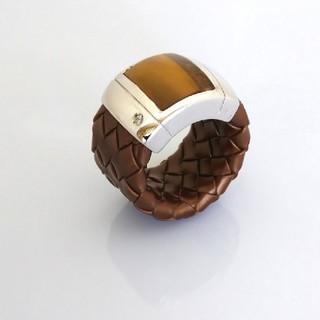 ☆限定販売☆イタリア製 シルバー×タイガーアイ×CZ ラバーリング(リング(指輪))
