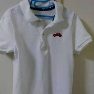 mikihouse - ミキハウス 白 ポロシャツ 140cm