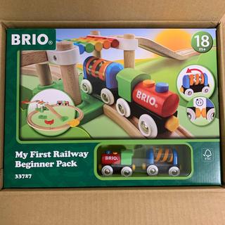 BRIO - BRIO (ブリオ) レールウェイ マイファースト ビギナーセット 木製レール