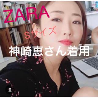 ZARA - シャツワンピース