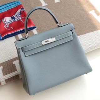 雨の日用にブルーランのKeLLY内縫い水色ハンドバッグ出勤ショルダーバッグ/多色