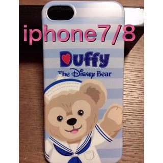 ダッフィー(ダッフィー)のダッフィー  iphone7/8 スマホケース  ディズニー(iPhoneケース)
