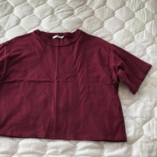 ウィゴー(WEGO)のWEGO 半袖 エンジ(Tシャツ(半袖/袖なし))