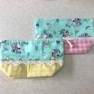 ディズニー(Disney)のお弁当袋 巾着(ランチボックス巾着)