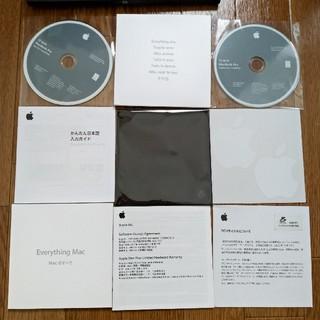 Mac (Apple) - macbook pro OS10.6 Leopard DVD 13 フルセット