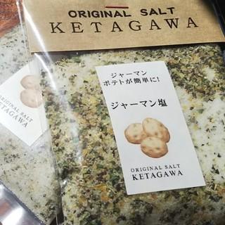 【お得な大容量❗️】ジャーマン塩詰め替えパウチパック(調味料)