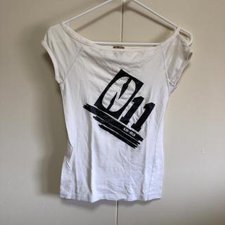 エルビーゼロスリー(LB-03)のLB-03 オフショルtシャツ(Tシャツ(半袖/袖なし))