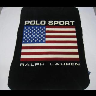 ラルフローレン(Ralph Lauren)のポロスポーツ アメリカンフラッグ フリースブランケット(その他)