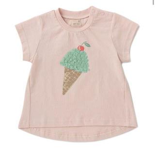 petit main - 新品プティマインアイスモチーフTシャツ トップス ピンク