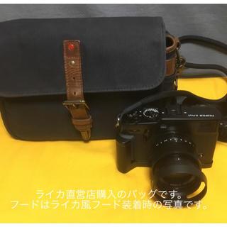 フジフイルム(富士フイルム)の富士フイルム X-Pro3 ブラック XF35mm F1.4 R 他付属品多数付(ミラーレス一眼)