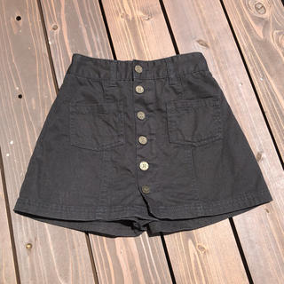 repipi armario - レピピアルマリオ XS  黒 スカートパンツ