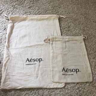 イソップ(Aesop)のAesop イソップ 巾着 ショッパー(ショップ袋)