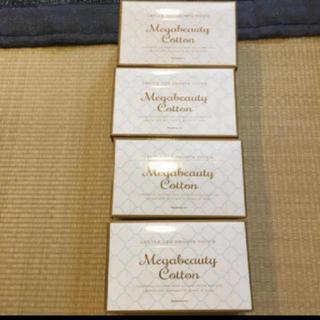 ナリスケショウヒン(ナリス化粧品)のナリスコットン 4箱セット(コットン)