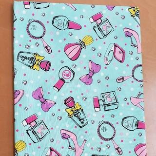 バービー(Barbie)のBarbie カットクロス 生地巾110cm×55cm(生地/糸)
