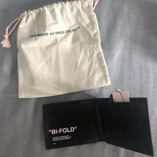 オフホワイト(OFF-WHITE)のoff white BiFOLD (折り財布)