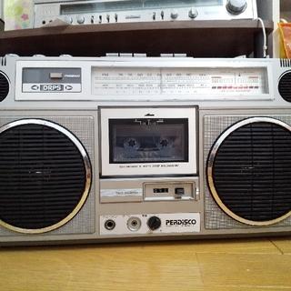 ヒタチ(日立)の日立ラジカセTRK-8020 2台(ラジオ)