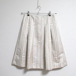 アマカ(AMACA)の★AMACA アマカ★幾何学模様 ふんわりスカート 38(ひざ丈スカート)