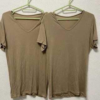 グンゼ(GUNZE)のGUNZE YG Lサイズ 新品二枚組み(Tシャツ/カットソー(半袖/袖なし))