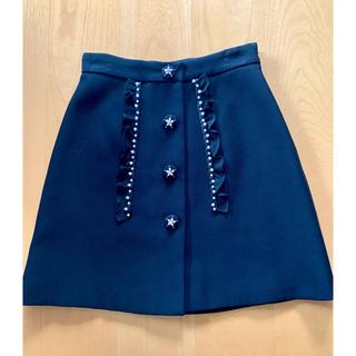 miumiu - miumiu ビジュー スカート