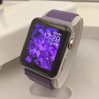 Apple Watch - Apple Watch シリーズ3 セルラー38mm アップルウォッチ