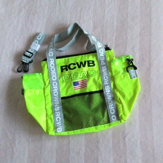 RODEO CROWNS - RCWB PEAC 2WAY ミニBAG【 付録】