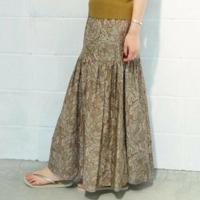 Plage(プラージュ)のplageペイズリースカート レディースのスカート(ロングスカート)の商品写真
