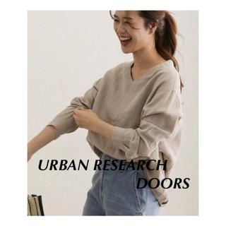 DOORS / URBAN RESEARCH - リネンバックタックプルオーバー   URBAN RESEARCH DOORS