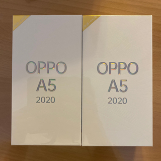 OPPO A5 2020 楽天モバイル対応 simフリースマートフォン ブルー