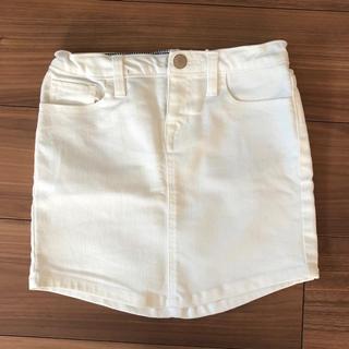 ギャップ(GAP)の美品 GAP ミニスカート デニムスカート120(スカート)