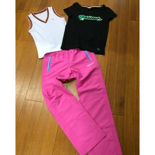 アディダス(adidas)の【激安まとめ売り】adidasパンツ プーマTシャツ3点セット◎美品(セット/コーデ)