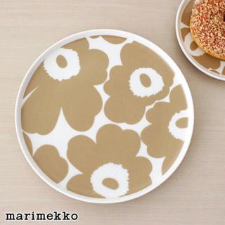 marimekko - 新品正規品marimekko白ウニッコプレート13.5cm