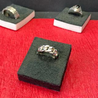 指輪 シルバー925  チェーン(リング)