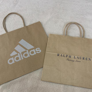 アディダス(adidas)のショップバッグ 紙袋(ショップ袋)